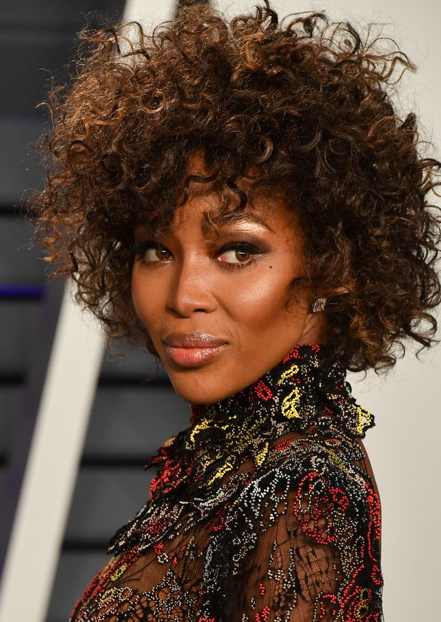 Naomi Campbell best haircuts for every face shape