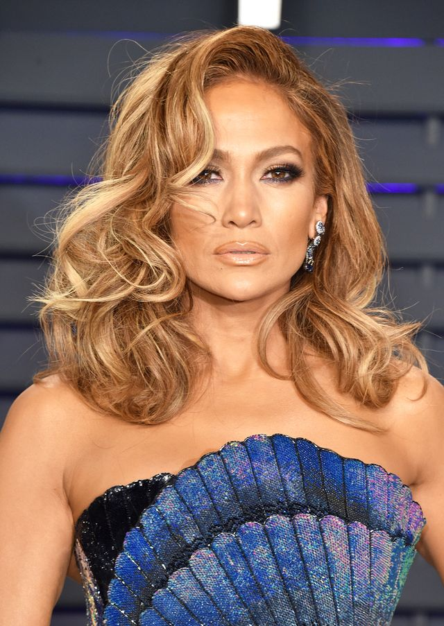 Jennifer Lopez best haircuts for every face shape