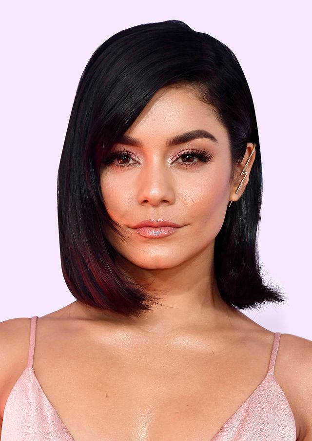 Vanessa Hudgens best haircuts for every face shape