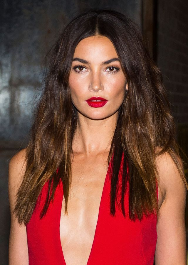Lily Aldridge best haircuts for every face shape