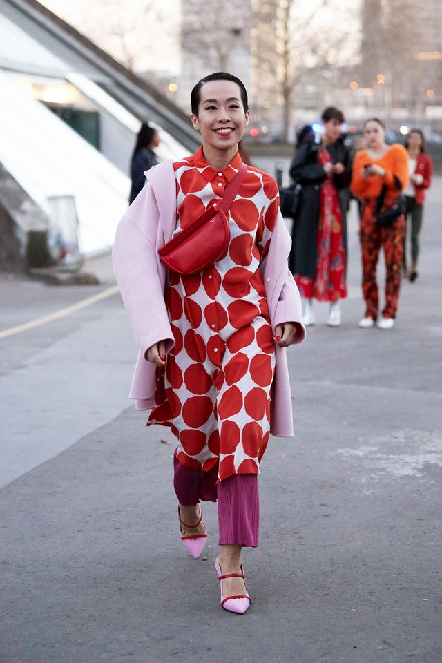 Paris fashion week street style fall 2019