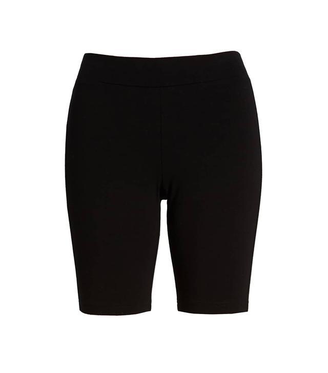 Hue High Waist Cotton Blend Bike Shorts