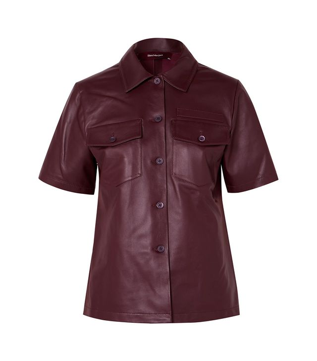 Sies Marjan Nico Leather Shirt