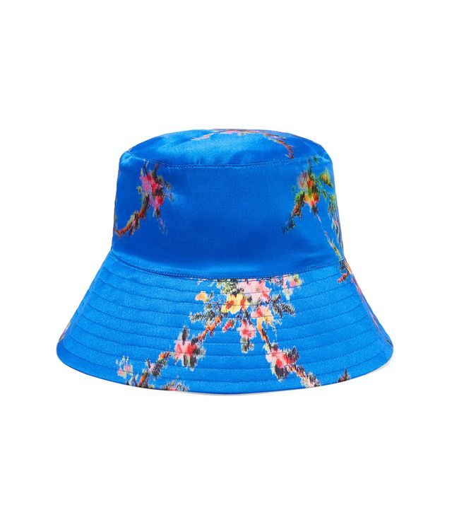 Preen by Thornton Bregazzi Holly Printed Satin Bucket Hat