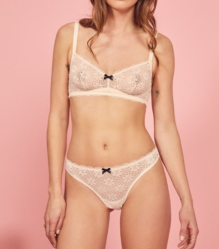 d98737b1a063a The Lingerie Basics Everyone Will Buy From Reformation | Who What Wear
