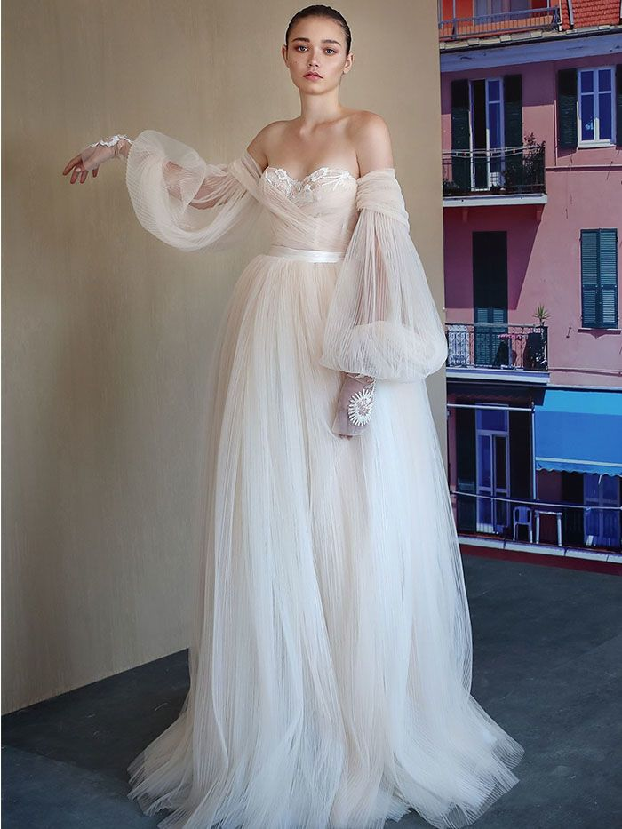 68f9f88027 The 7 Biggest Wedding Dress Trends of 2019 | Who What Wear