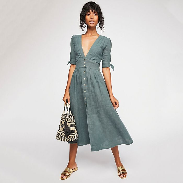 24 of the Best Summer Midi Dresses Online Right Now | Who What Wear UK