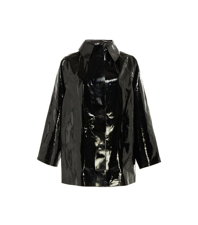 Kassl Lacquer Above The Knee Jacket