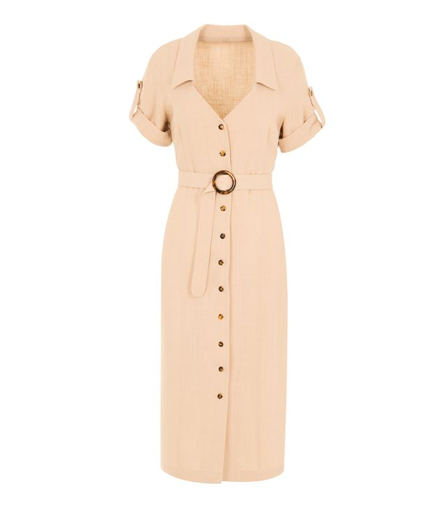 Usisi Daryl Linen Dress