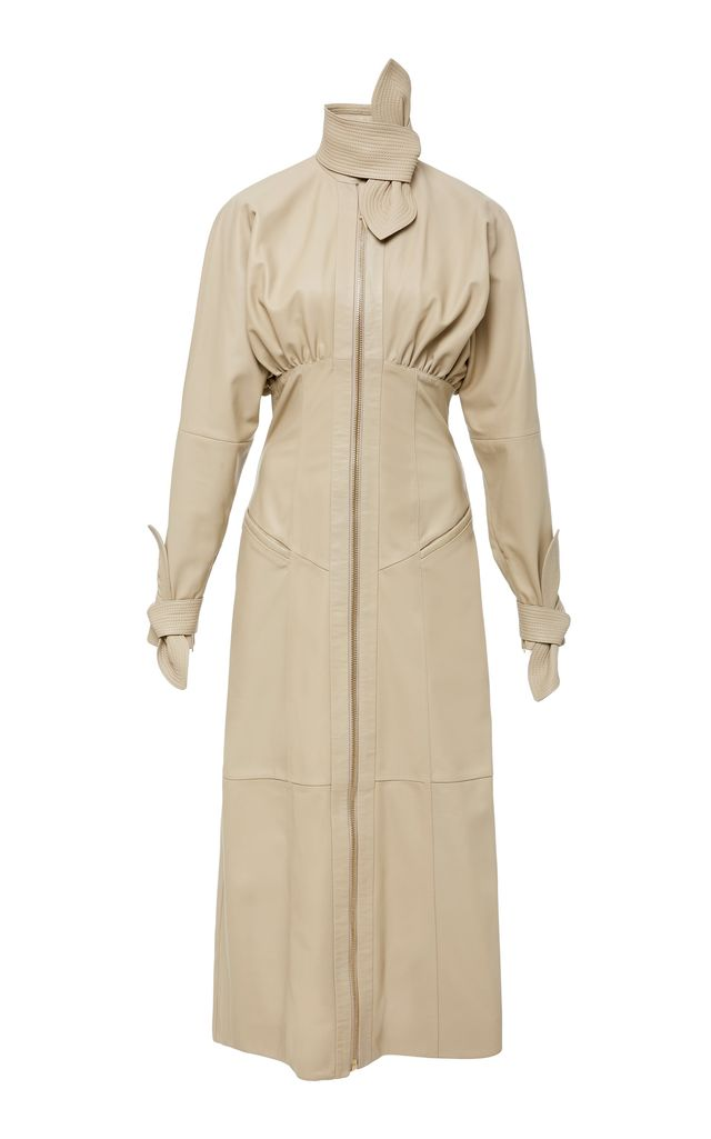 Zimmermann Tempest Leather Corset Dress