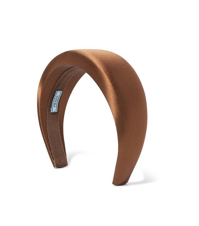 Prada Silk-Satin Headband