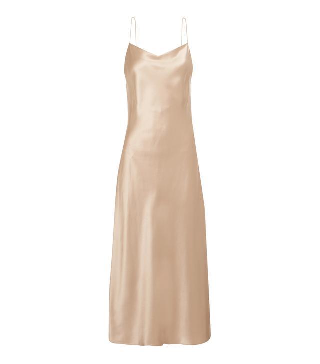 Joseph Silk-Satin Midi Dress