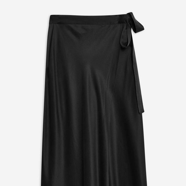 Topshop Double Layer Silk Skirt by Boutique