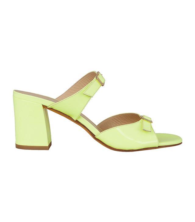 Maryam Nassir Zadeh Una Double Strap Slide Sandals