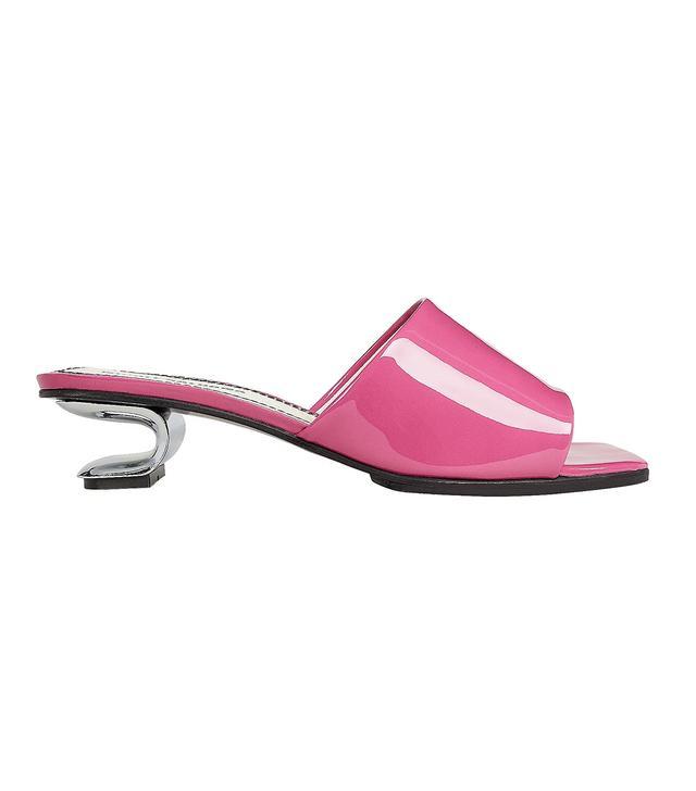 Nicole Saldana Sarah Metal Cutout Pink Slides