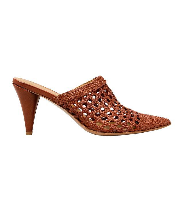 Veronica Beard Jaqlyn Basket Weave Mules
