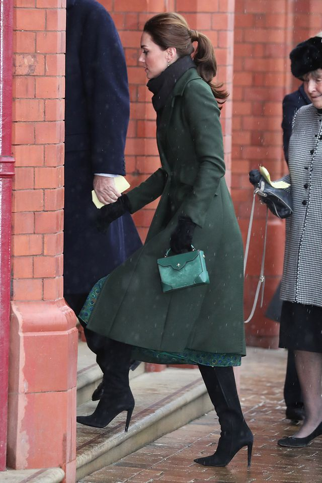 Kate Middleton Wore The Knee High Boot Trend Who What Wear