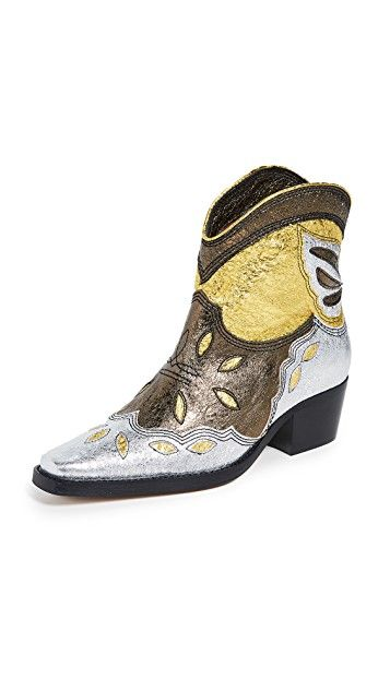 Ganni Low Texas Boot
