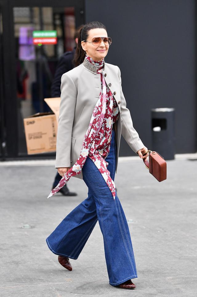 Juliette Binoche style
