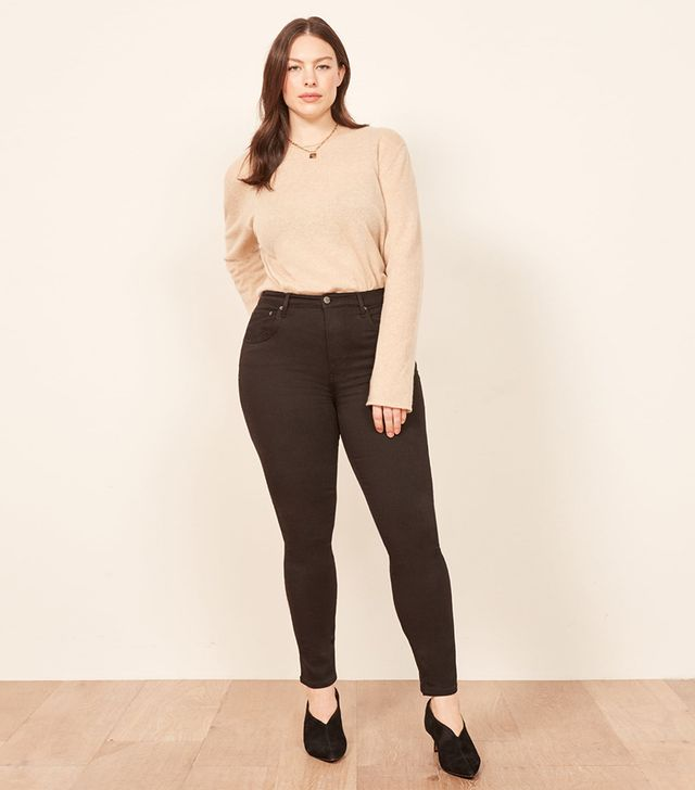 Reformation Extended Sizes High & Skinny Jeans
