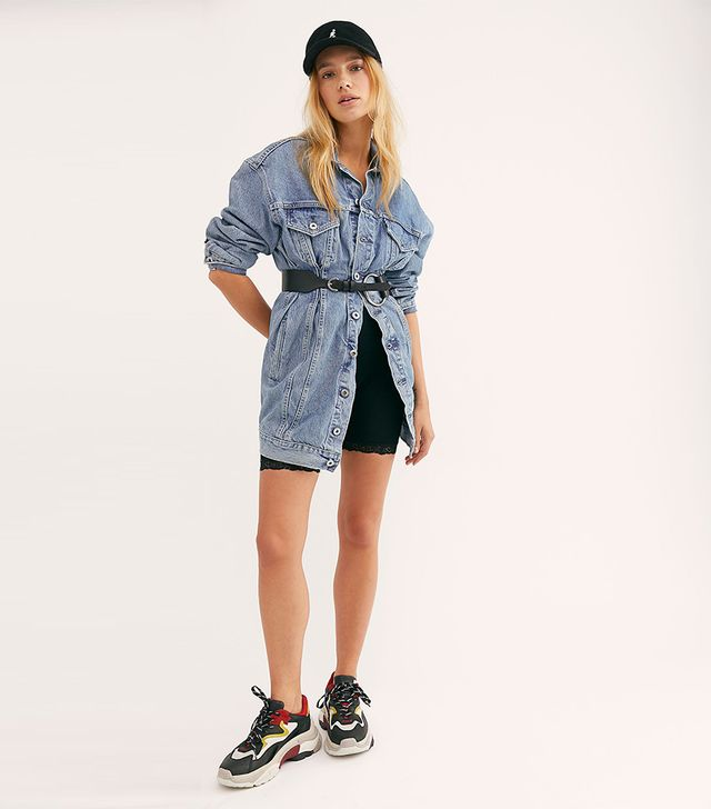 Levi's Made & Crafted Denim Trucker Dress