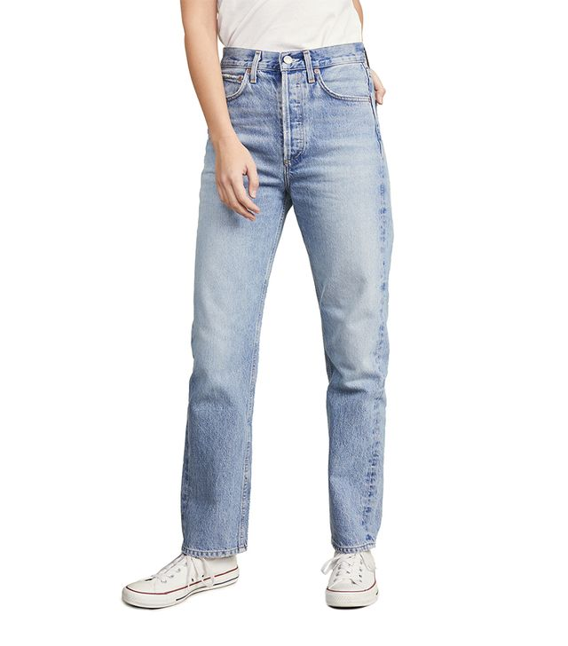 Agolde Mid Rise 90s Loose Fit Jeans