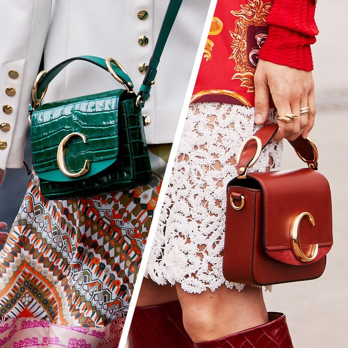 24aed776 The Chloé C Bag Is Spring's New It Bag | Who What Wear
