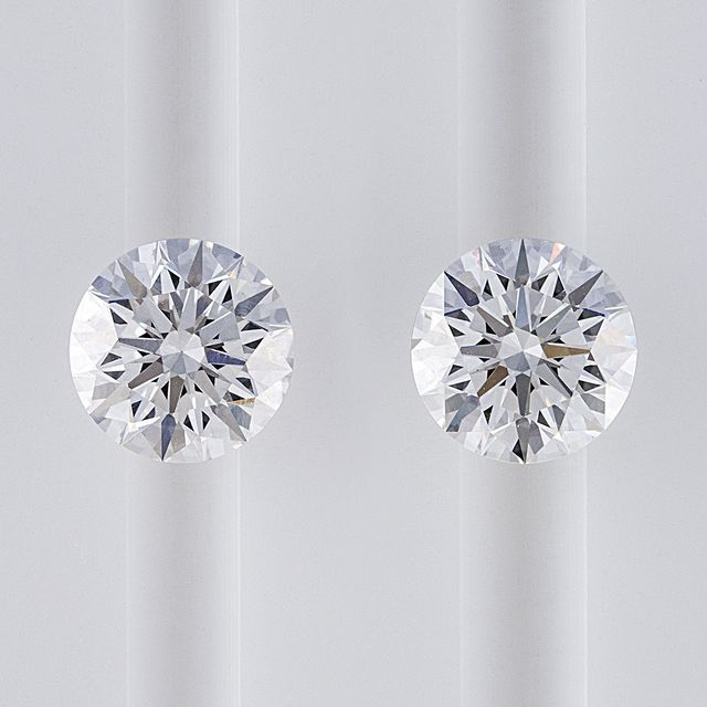 The difference between mined diamonds and lab-grown diamonds.