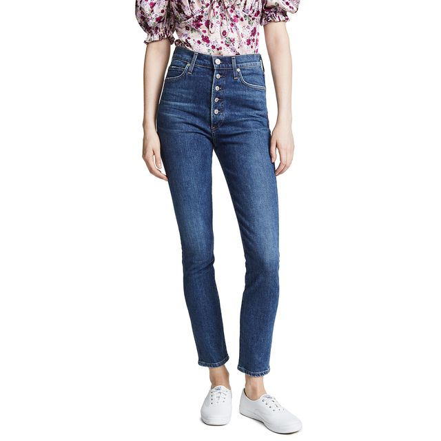 Citizens of Humanity Olivia Exposed Fly Jeans