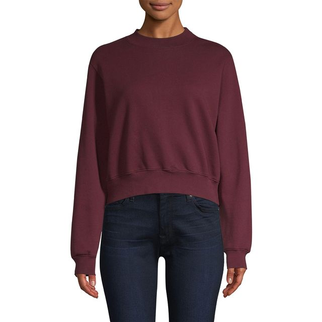 Cotton Citizen Milan Crop Sweatshirt