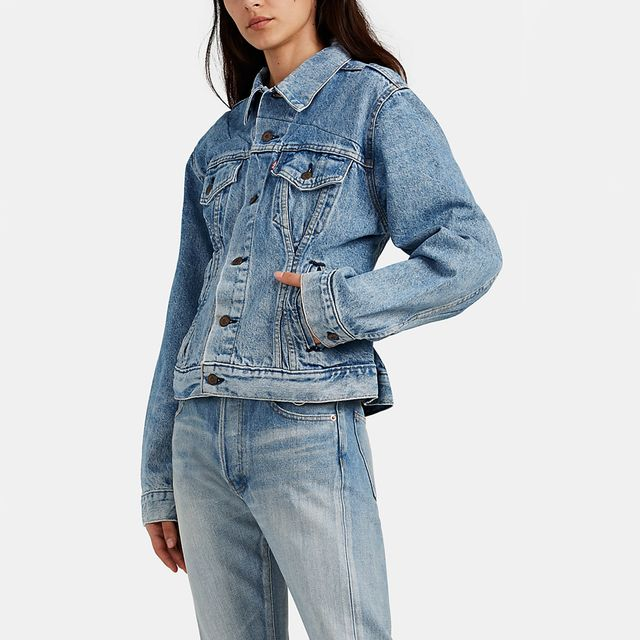Re/Done x Levi's Corset Denim Jacket
