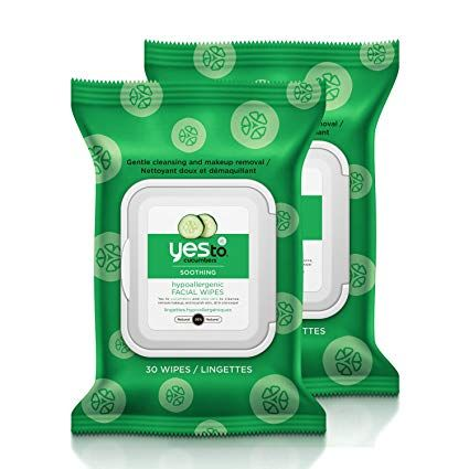 Yes To Hypoallergenic Facial Wipes