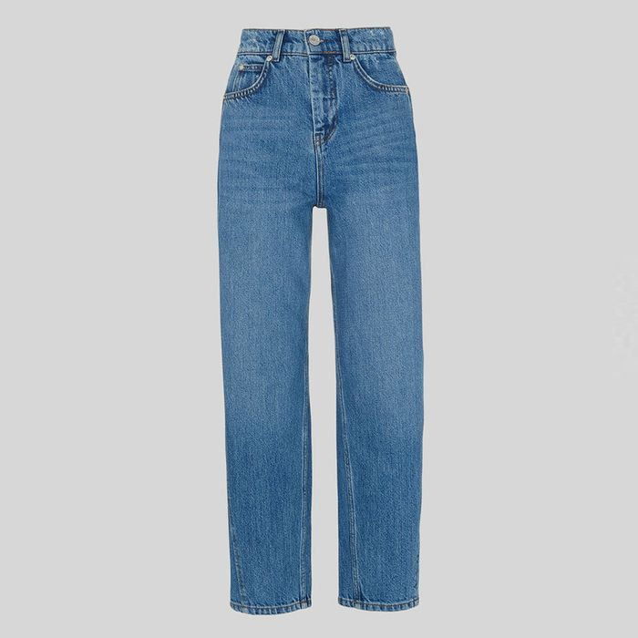 70755c1f6a4 Whistles' Barrel-Leg Jeans Keep Selling Out—Here's Why | Who What Wear UK