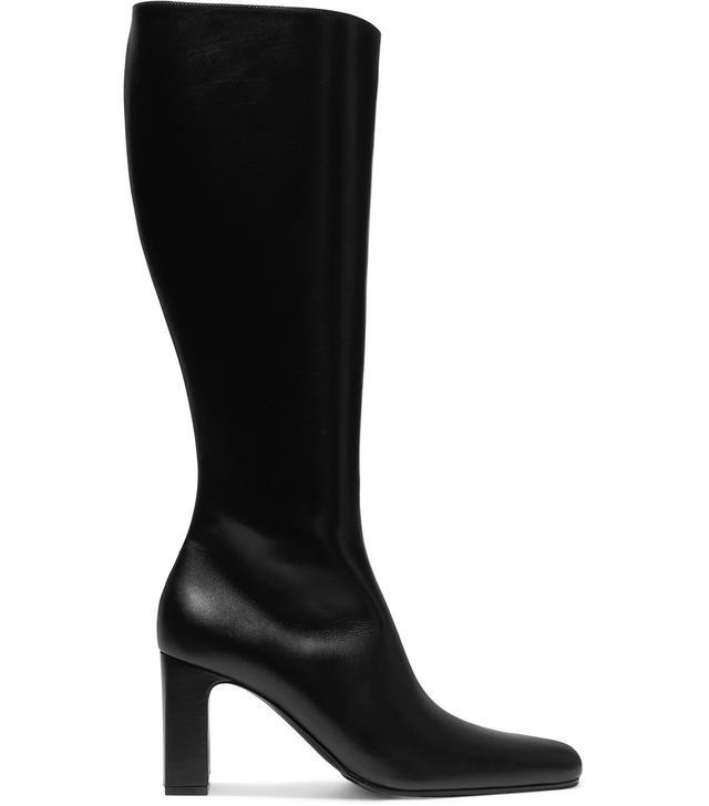 Balenciaga Leather Knee Boots