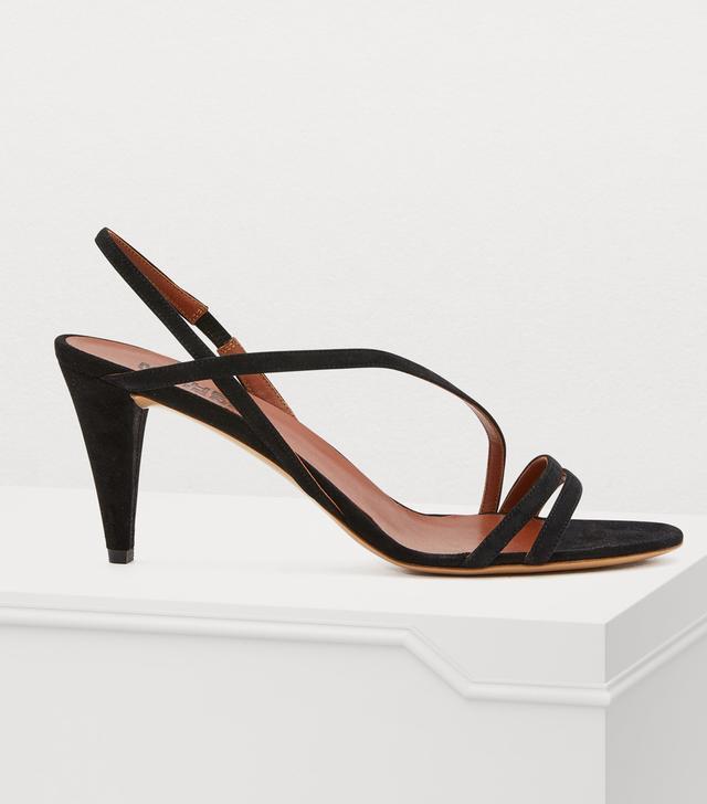 Michel Vivien Square sandals