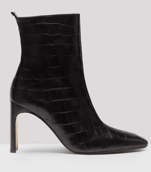 Miista Marcelle Croc Leather Boots