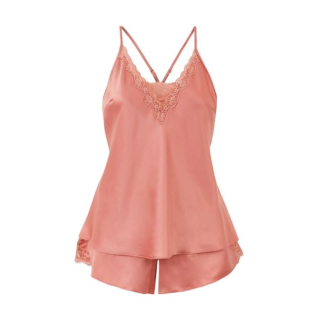 Marks & Spencer Satin Strappy Camisole Set