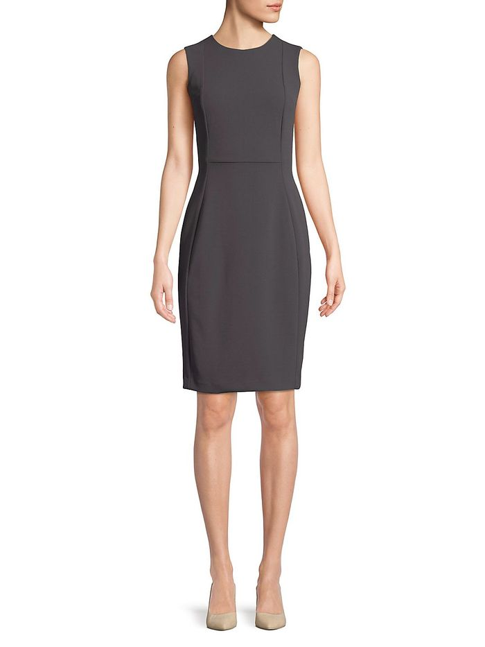 ede16ec600ae Calvin Klein Regatta Sheath Dress ($94)