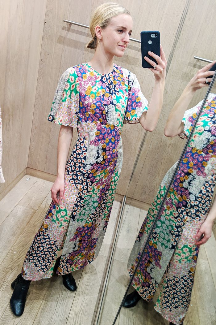 62cb8651e9 Everyone's Talking About Topshop's Angel Sleeve Maxi Dress | Who ...