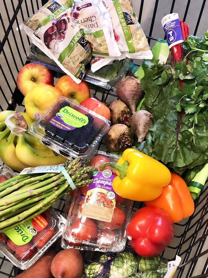 The Produce a Nutritionist Always Adds to Her Grocery Cart