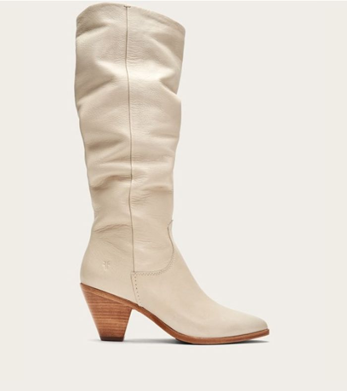 21 White Knee High Boots To Wear Everywhere This Season