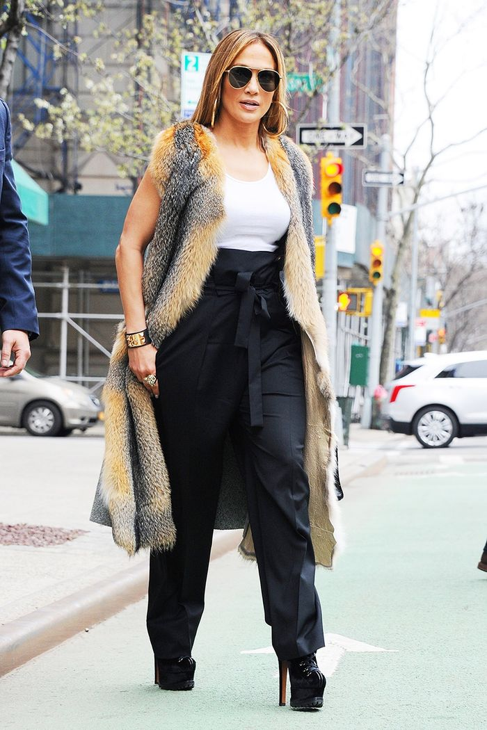 J.Lo Might've Just Worn Her Most Controversial Shoes Yet