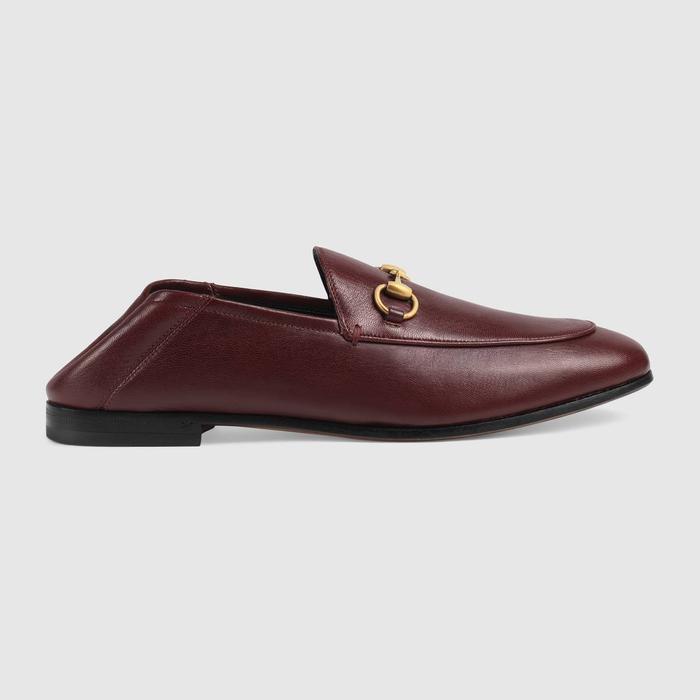 d2ebfdd392c Gucci Leather Horsebit Loafer ( 730)