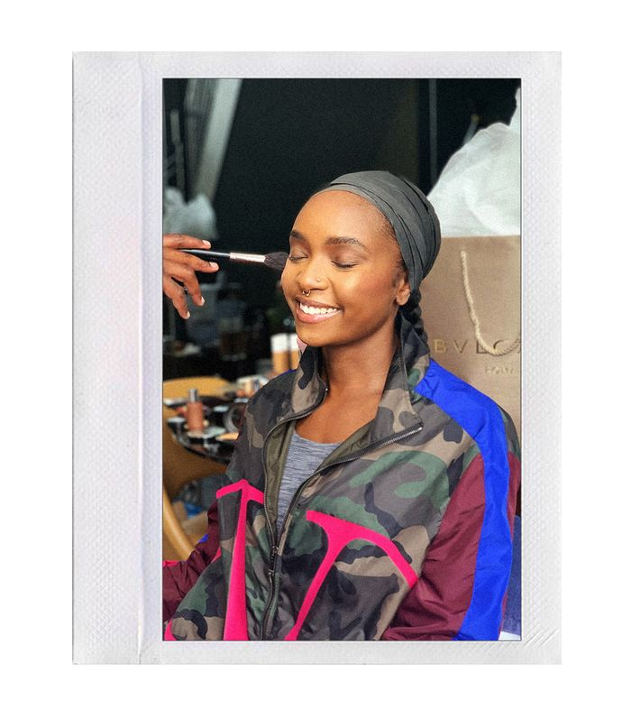KiKi Layne Just Started the Chic Red Carpet Trend We Didn't See Coming