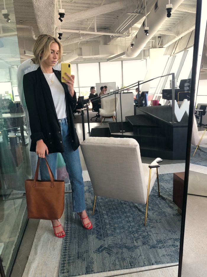 Madewell Leather Transport Tote Review