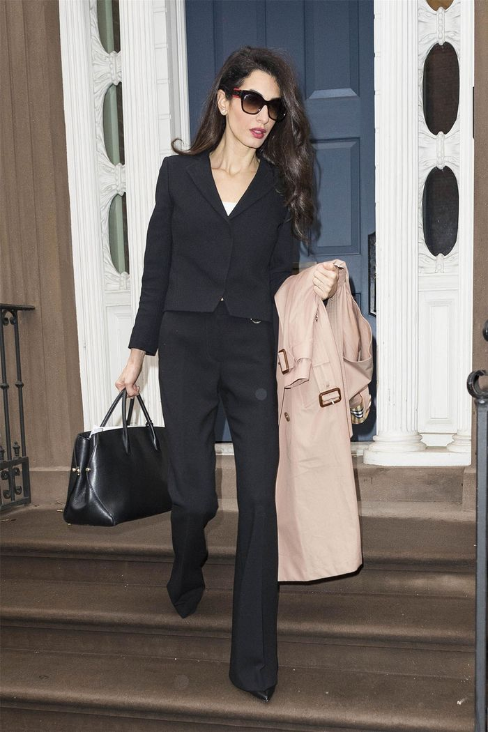 5 Classic Fashion Basics Amal Clooney Leaned Into in Her 40s | Who
