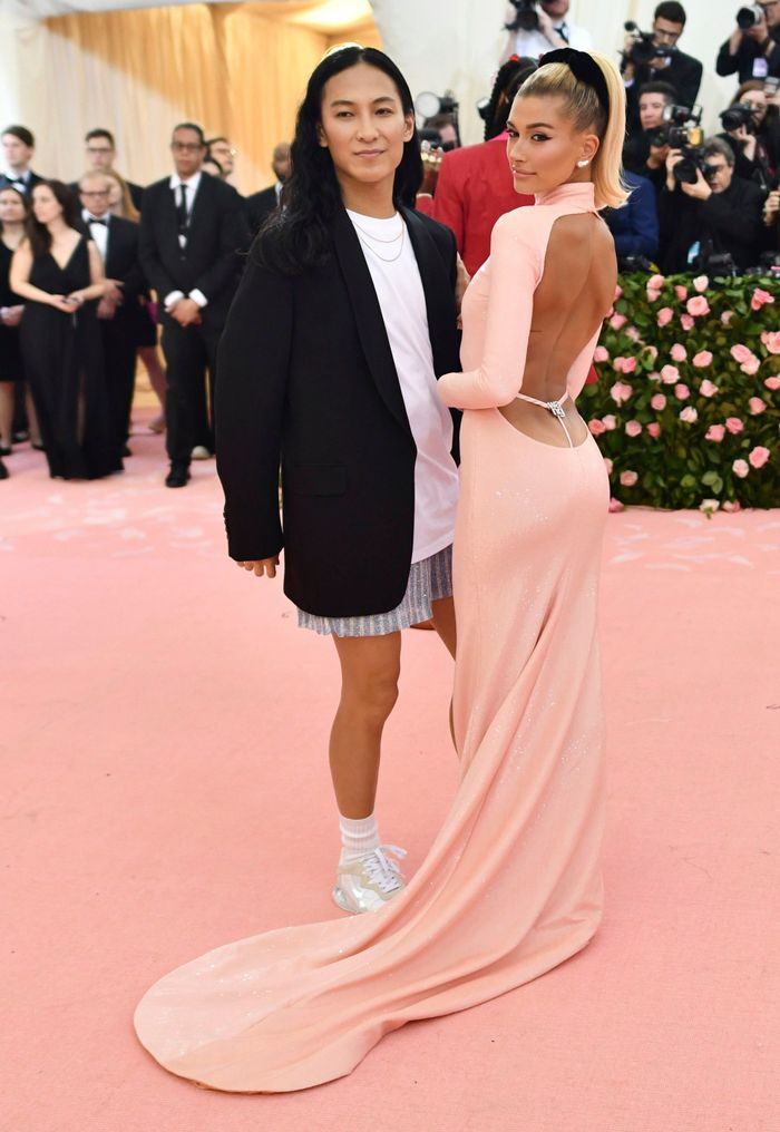 Hailey Bieber Wore A G String Thong Dress To The Met Gala