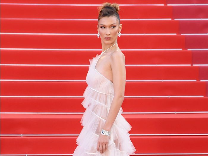 Bella Hadid Wore the Dreamiest Sheer Ball Gown at Cannes