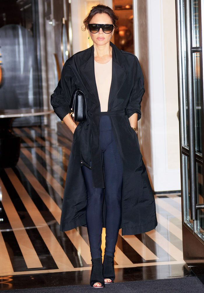 Yes, Victoria Beckham Just Made Leggings Look Luxurious