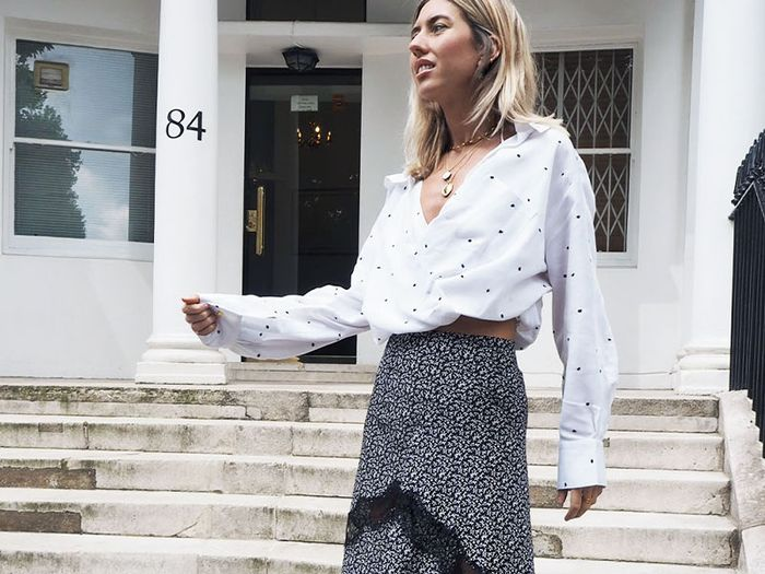 a7c4307e23 Here s How I Turned My 3 Favourite Midi Skirts Into 9 Perfect Outfits